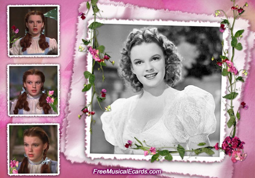 Young Judy Garland in the movies