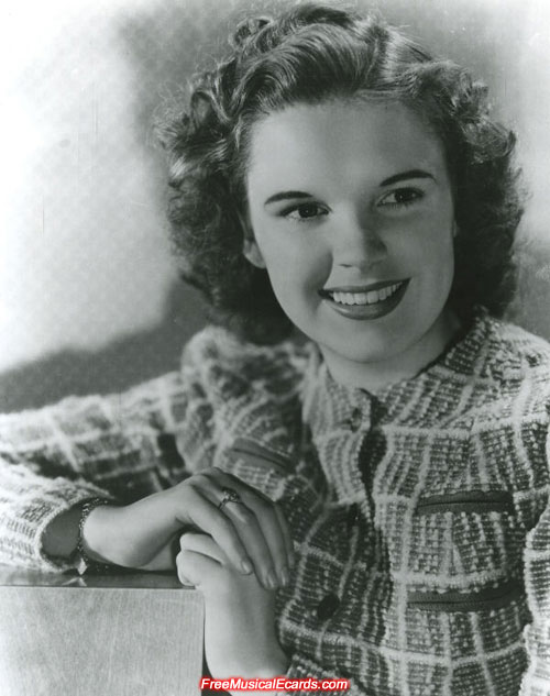 Beautiful Judy Garland is respected for her versatility