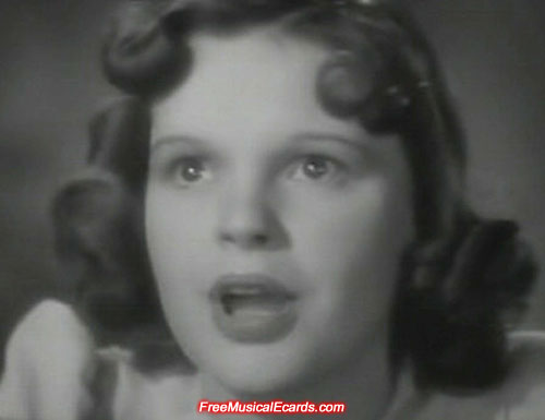 Cute Judy Garland