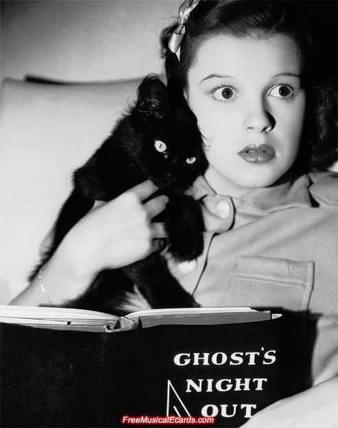 Happy Halloween from Judy Garland