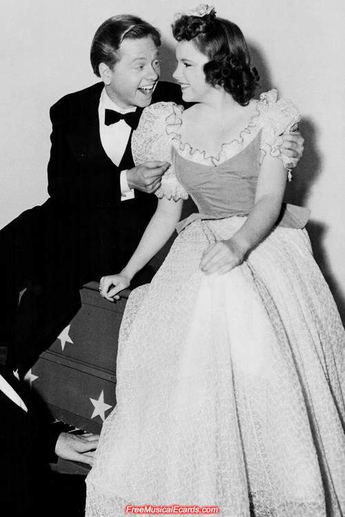 Judy Garland and Mickey Rooney grew up in film together