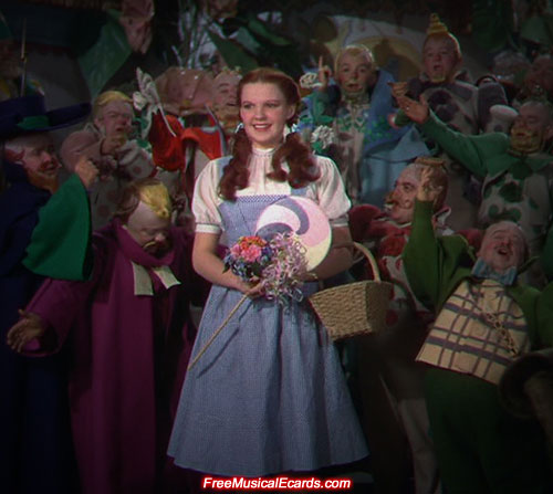 Judy Garland played the part of Dorothy in The Wizard of Oz (1939)