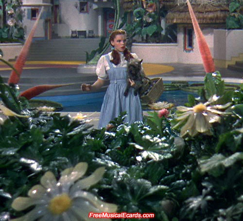 Judy Garland performing as Dorothy in The Wizard of Oz