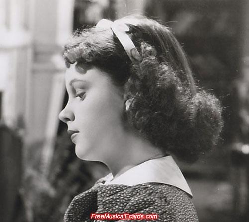 Judy Garland hairstyle