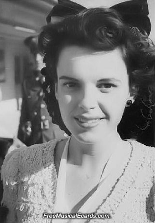 A youthful Judy Garland in 1941