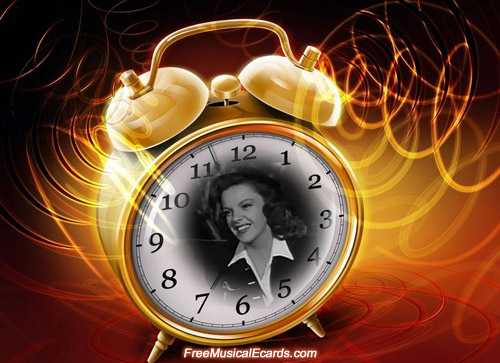 Judy Garland played a starring role in The Clock