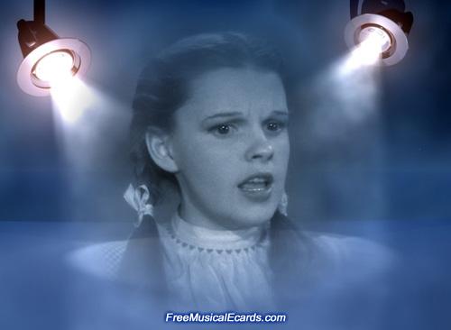 Judy Garland enjoyed being in the spotlight