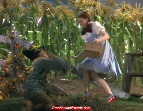 Judy Garland is most recognised as Dorothy