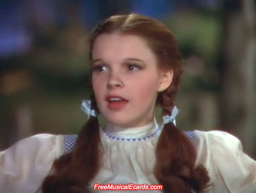 Judy Garland as Dorothy lives on through her music and films