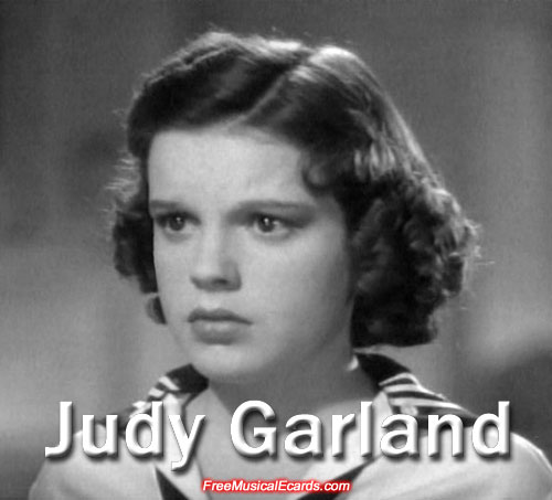 Judy Garland performing as Judy Bellaire in Everybody Sing