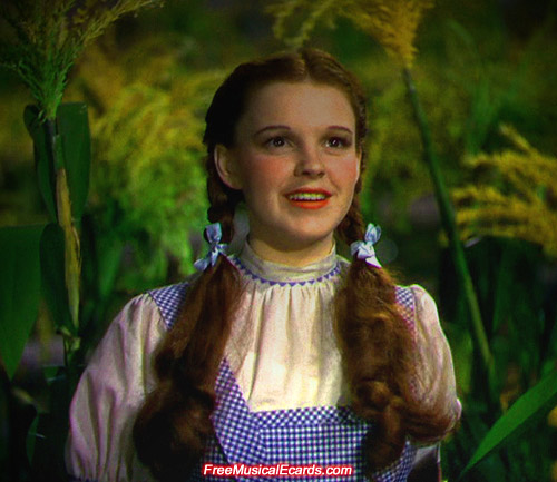Judy Garland shot to superstardom as Dorothy