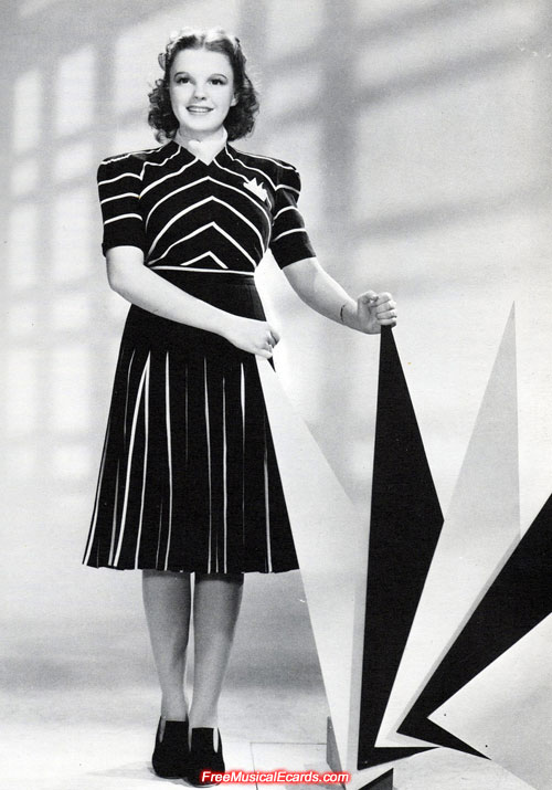 Judy Garland promotional photo for The Wizard of Oz