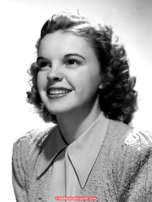 Judy Garland was a big star of almost mythical proportion