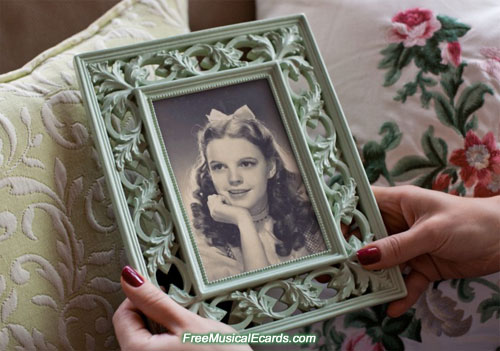 Judy Garland was like a shooting star in all its glory