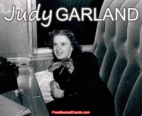 Judy Garland was the young girl from over the rainbow