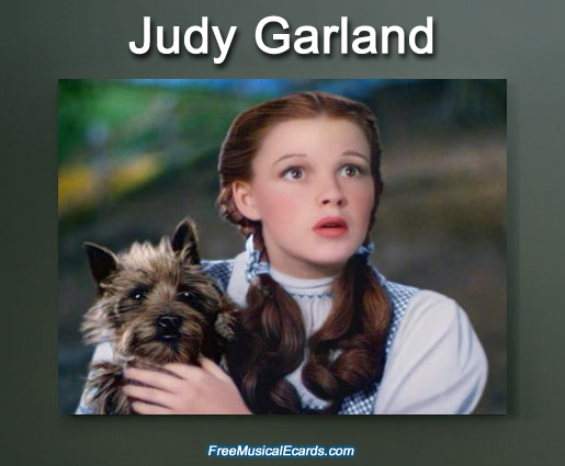 Judy Garland will always be Dorothy and a legend