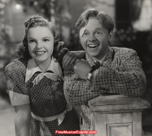Memories of Judy Garland and Mickey Rooney