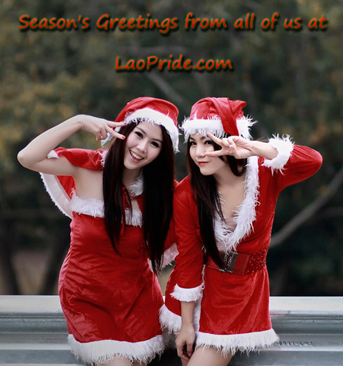 Happy Holidays from the team at Lao Pride