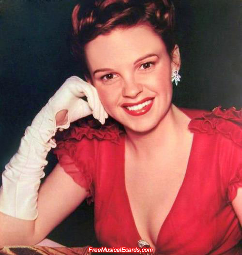Attractive Judy Garland