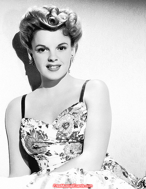 Beautiful Judy Garland