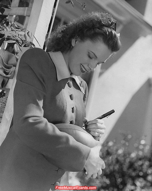 Judy Garland always made herself available for fans