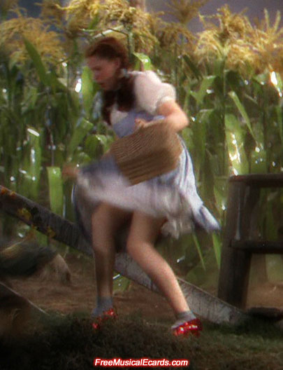Judy Garland as Dorothy had nice legs