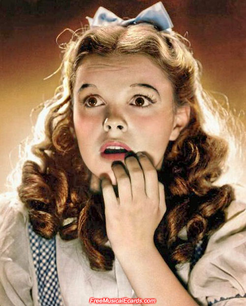 Judy Garland as Dorothy promotional photo