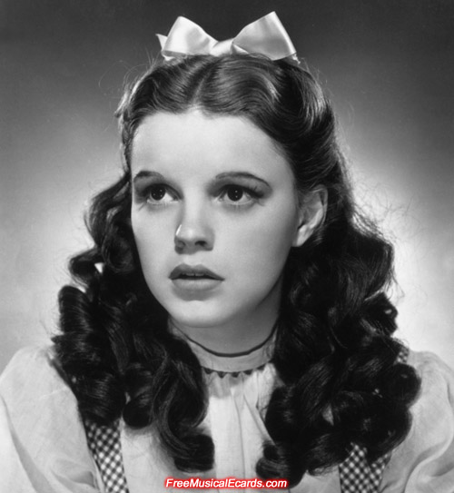 Judy Garland as Dorothy publicity still for The Wizard of Oz