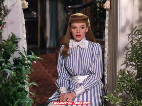 Judy Garland as Esther Smith in Meet Me in St. Louis