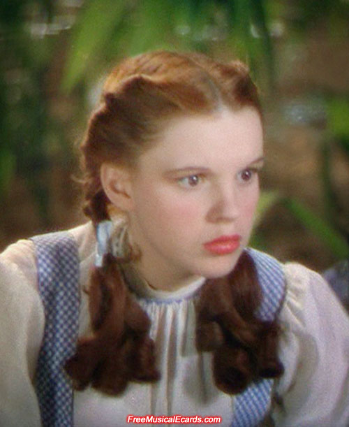 Judy Garland had a blend of beauty and talent as Dorothy