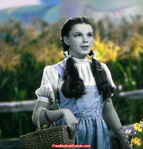 Judy Garland booked herself a place in Hollywood folklore