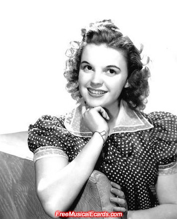 Judy Garland in her polka dot dress
