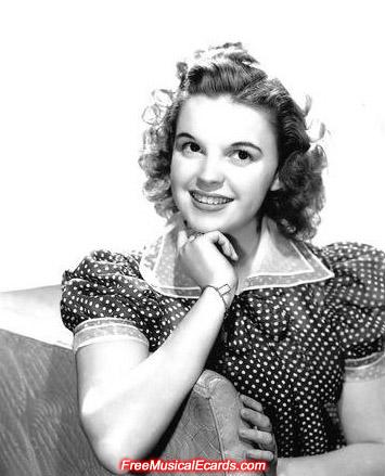 Judy Garland in her polka dot dress