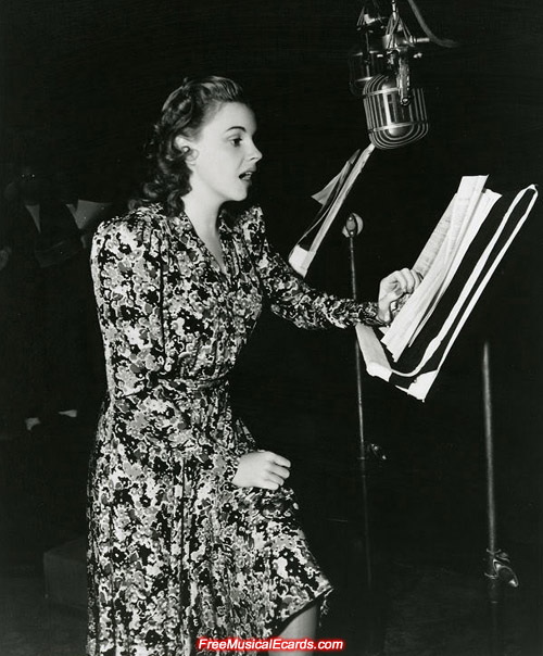 Judy Garland is well known for her acting and singing prowess