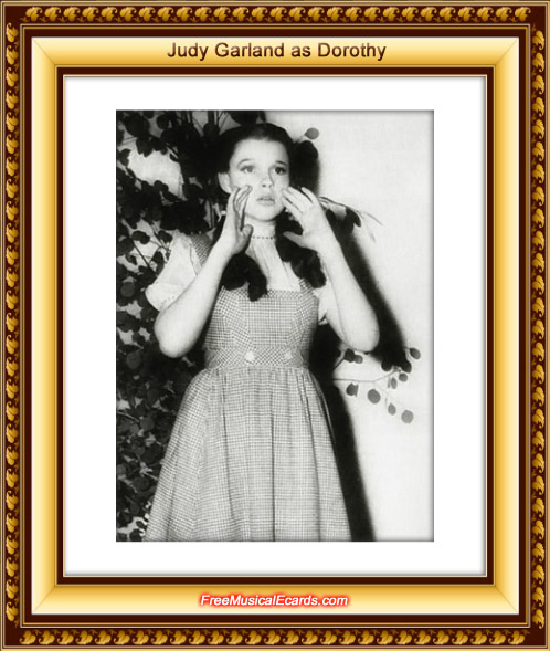 Judy Garland rose to instant fame as Dorothy