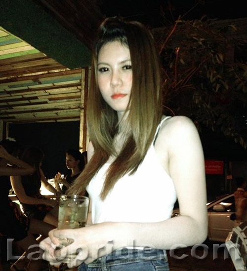 Lao bar girl