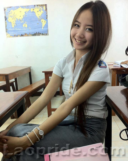 Lao female student
