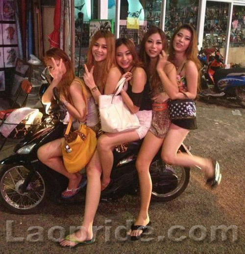 Lao girls