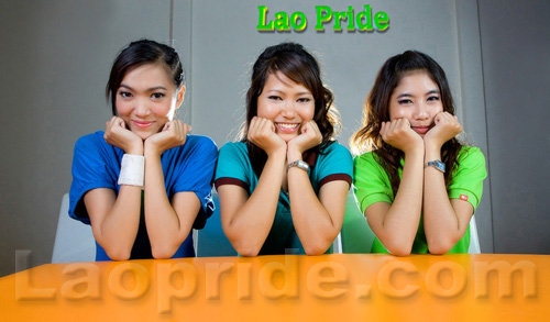 Lao pride ladies