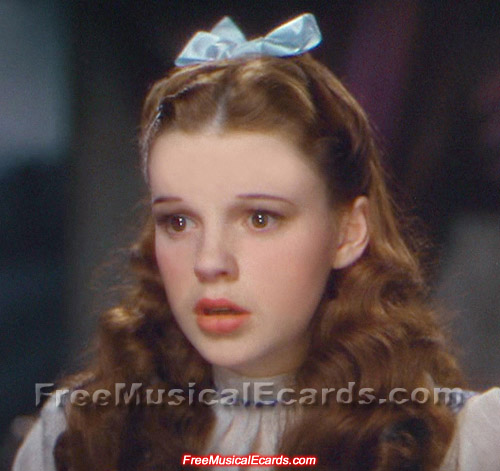 Rare image of a gorgeous Judy Garland as Dorothy