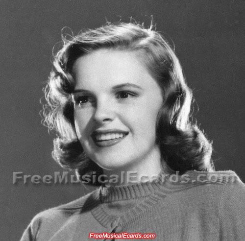 Screen goddess Judy Garland is happy with her new MGM contract