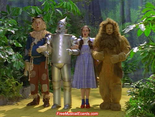 The Wizard of Oz was shot entirely on a studio set