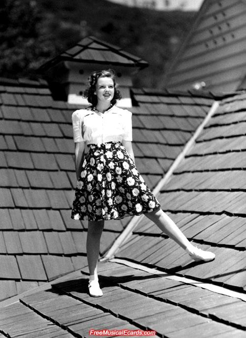 Teen Judy Garland
