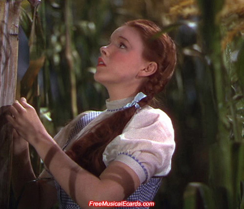 Judy Garland was hot in her performance as Dorothy in The Wizard of Oz
