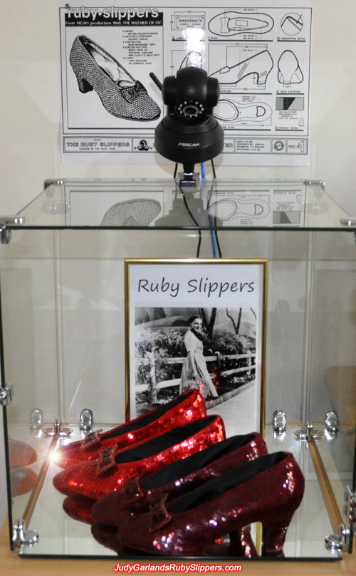 The magical ruby slippers