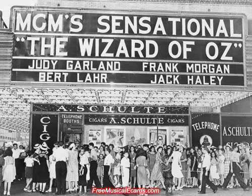 The Wizard of Oz became a classic film since its release in 1939