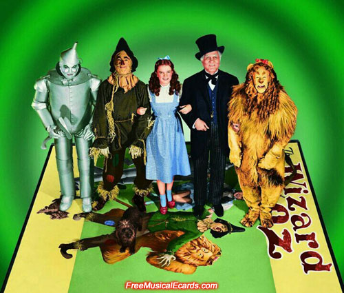 The Wizard of Oz cast