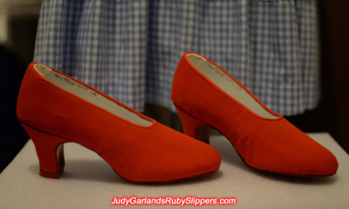 1930s style reproduction Judy Garland size 5B shoes