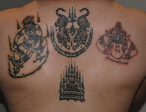 Lao pride forum sak yant tattoos for Laos tattoo designs