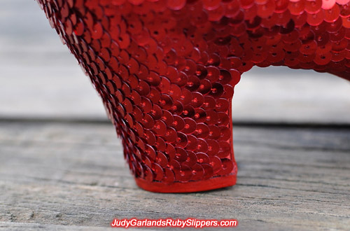 A final look at Judy Garland's stunning ruby slippers